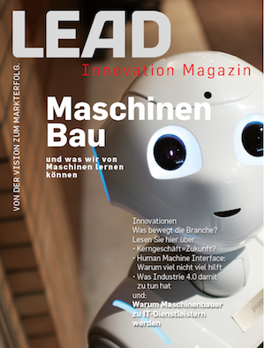 LEAD Innovation Magazin Maschinenbau