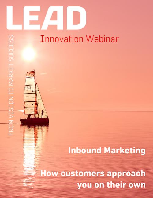 Innovation Webinar Inbound Marketing