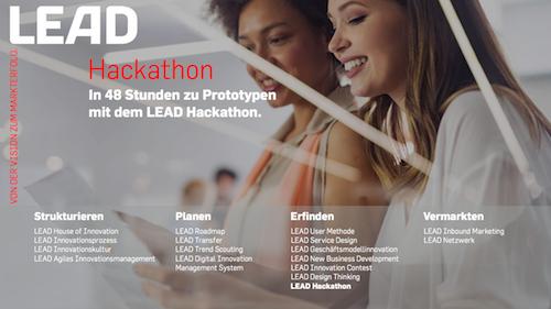 Produktfolder LEAD Hackathon