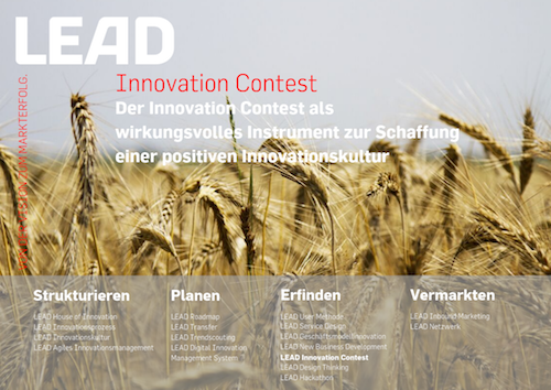 Produktfolder LEAD Innovation Contest 2019